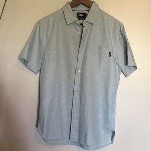 Stussy men's button down shirt